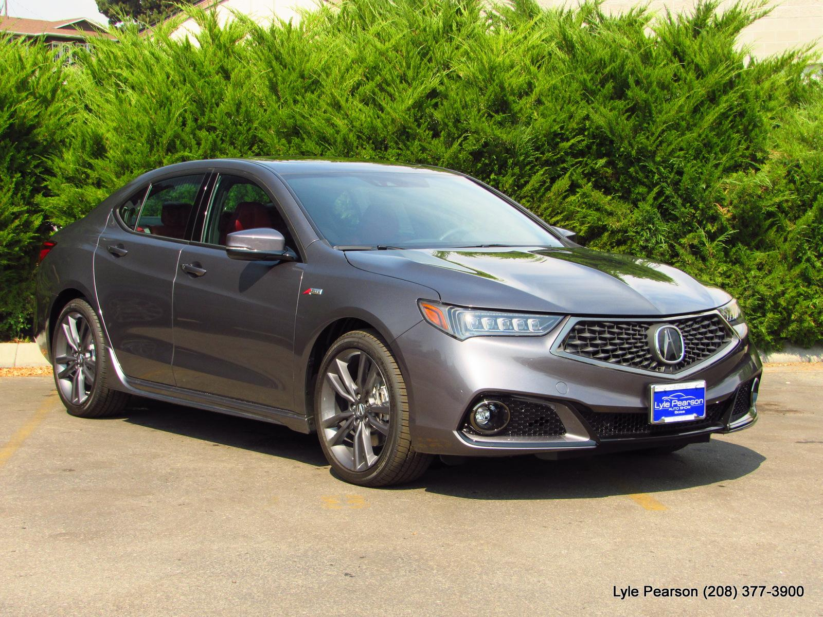New 2019 Acura TLX 3 5 V 6 9 AT SH AWD with A SPEC RED 4dr Car in