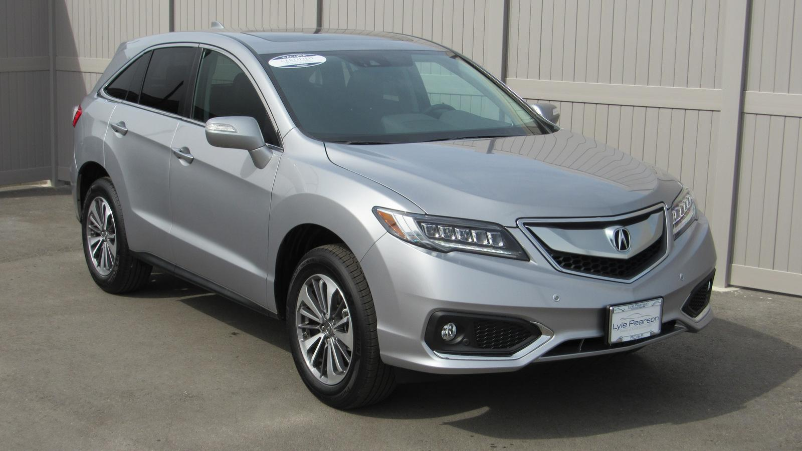Certified Pre-Owned 2018 Acura RDX AWD with Advance Package