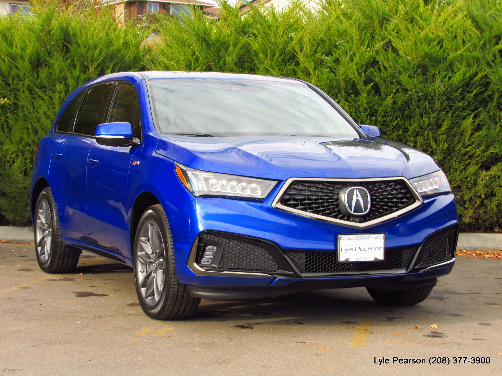 New 2019 Acura MDX SH AWD with A Spec Package Sport Utility in Boise
