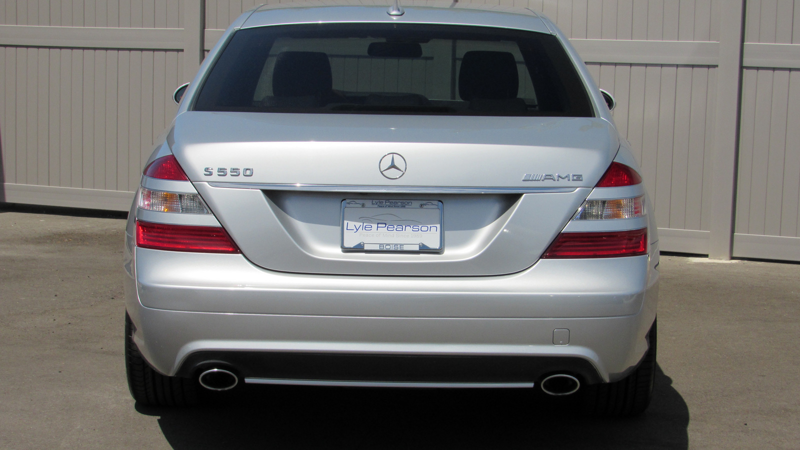 Pre-Owned 2008 Mercedes-Benz S-Class 4dr Sdn 5.5L V8 RWD