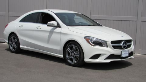 Pre-Owned 2014 Mercedes-Benz CLA CLA250 4MATIC® Coupe